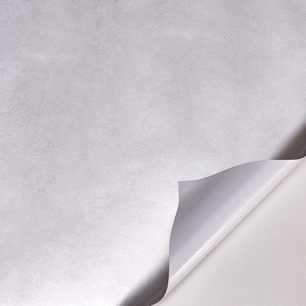 ATMOMO Metallic Silver Vinyl Wrap Car Wrap Vinyl Roll with Air Release Technology 59.8 x 7.8