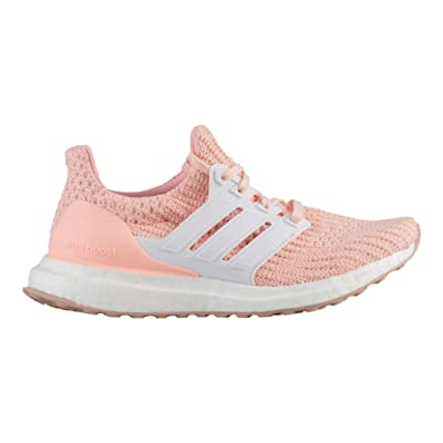 adidas Kids' Ultraboost (Clear Orange/Cloud White/White) | Fashion Sneakers