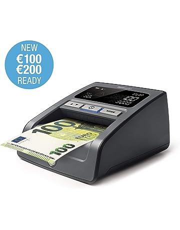 Safescan 155-S Negro - Detector automático de billetes falsos para una verificación 100%