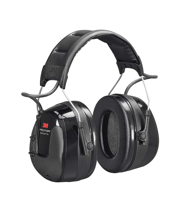 3M-Peltor WorkTunes Pro Earmuffs, AM/FM, NRR db 26, HRXS221A