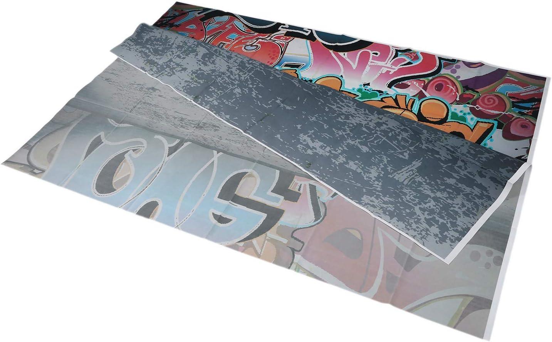 5x7ft Graffiti Style Vinyl Photography Backdrop Customized Photo Background R TOOGOO