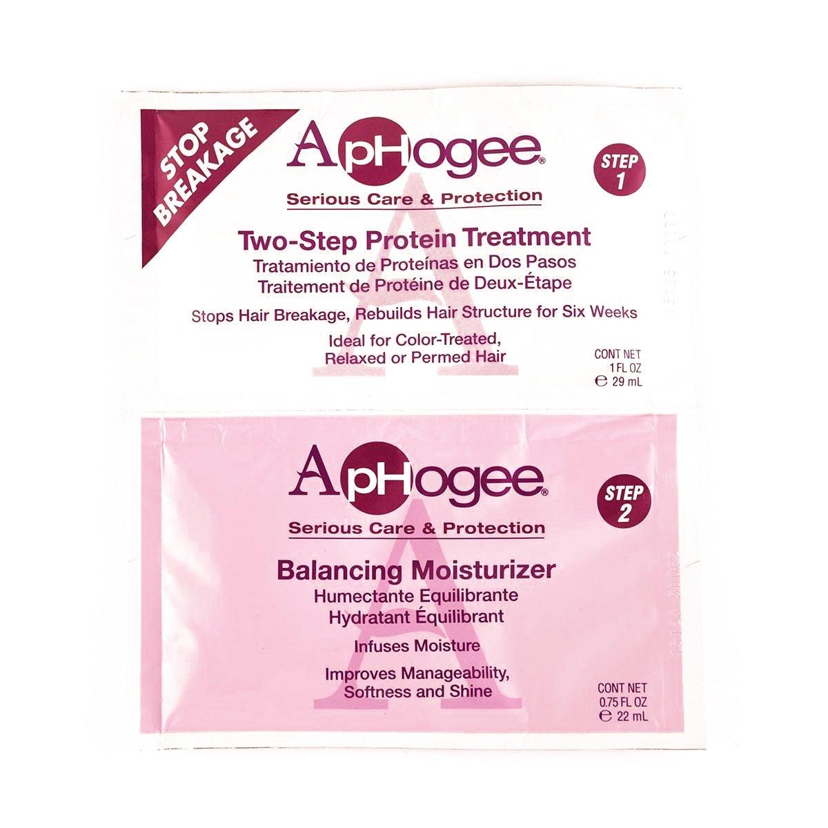 Aphogee Two-Step Protein Treatment Moisturizer 1 ea