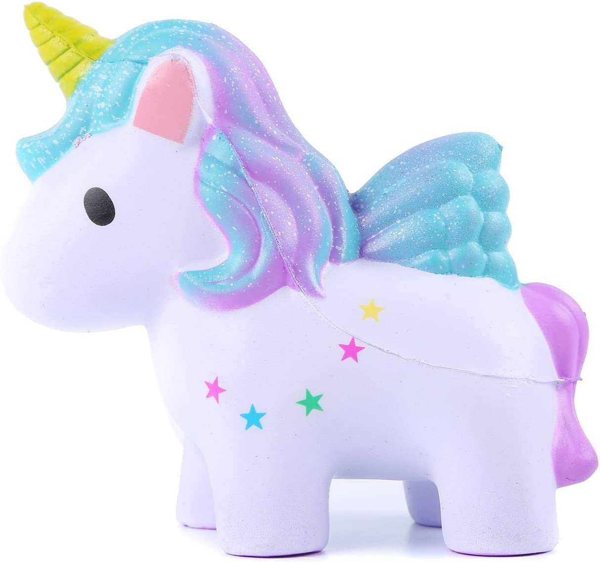 THE LEGENDARY LIFE Kids Squishies: Cute Slow Rising Jumbo Kawaii Creamy Scent Colorful Magic Unicorn Squishy Toy for Parties Stress ADHD ADD Anxiety Autism Complimentary Magical Unicorn Children EBook: Amazon.es: Juguetes y