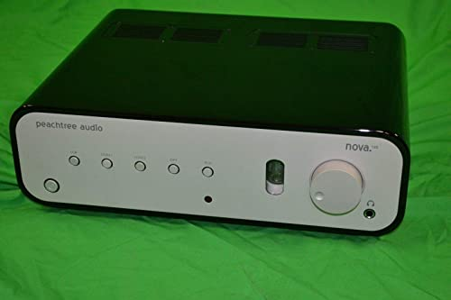 Peachtree Audio Nova High Gloss Black Integrated Stereo Amplifier with Built-in DAC