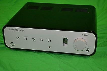 Amazon.com: Peachtree Audio Nova, color negro brillante ...
