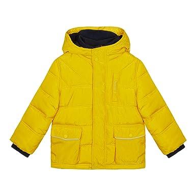 e8bf19d13 J by Jasper Conran Kids Boys  Mustard Padded Shower Resistant Jacket ...