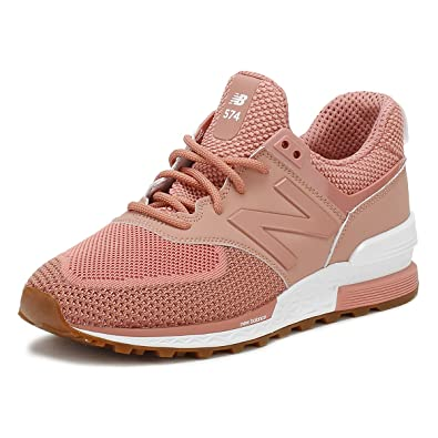 New Balance Damen Rosa MS574 Sneakers-UK 4: Amazon.de: Schuhe ...