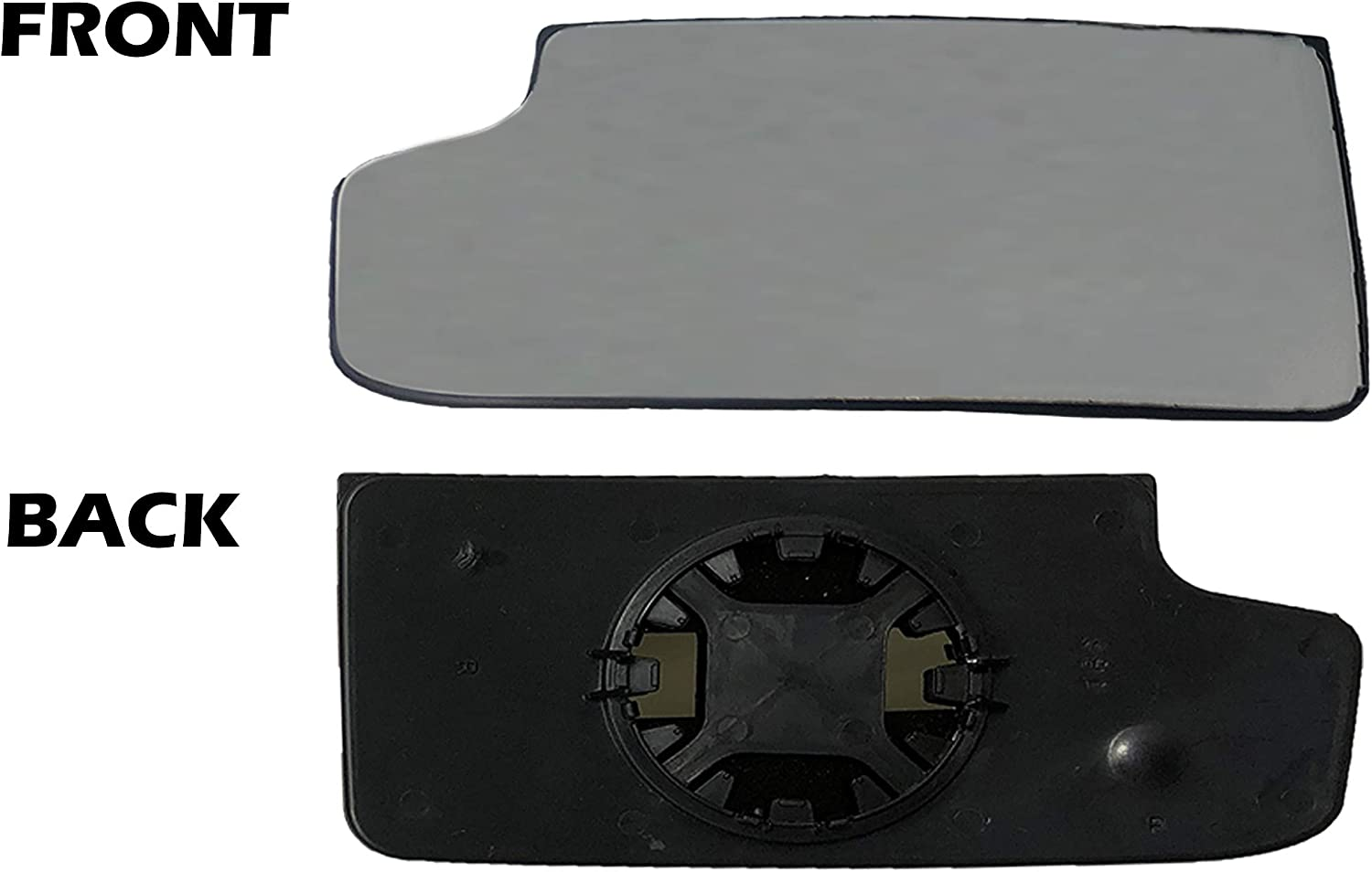 GMC Sierra Left Driver Lower Tow Mirror Glass Lens Convex Fits 03-14 15