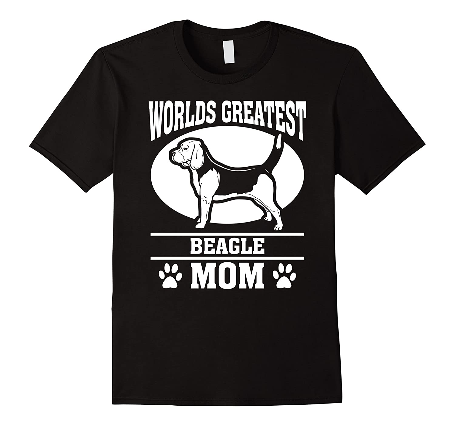 Worlds Greatest Beagle Mom T-shirt-CL