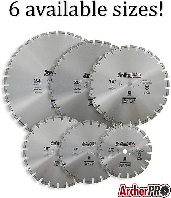 """Details about  /20/"""" Universal Asphalt /& Cured Concrete Diamond Blade"""