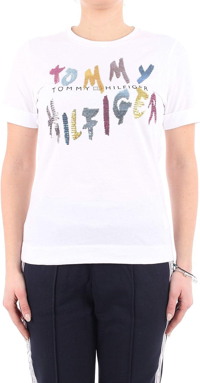 Tommy Hilfiger WW0WW26671 Camiseta Mujer: Amazon.es: Ropa y accesorios