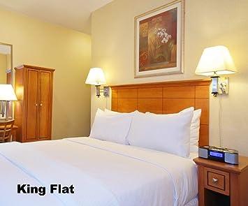 Amazon.com: King Size Flat Sheet, T-200, white,: Home & Kitchen