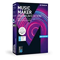MAGIX Music Maker – 2018 Premium Edition – The audio software with more sounds, instruments and creative options