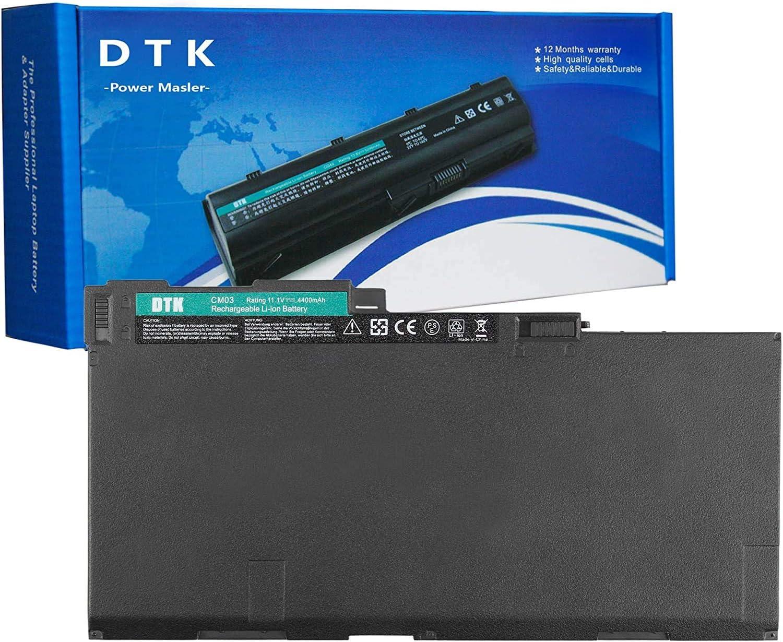 DTK CM03 CM03XL CO06XL Laptop Battery Replacement for HP EliteBook 740 G1 G2 / 745 G1 G2 G3 / 840 G1 G2 / 850 G1 G2 G3 / ZBook 14 G2 / 15u G2 Notebook 11.1V 4400mAh
