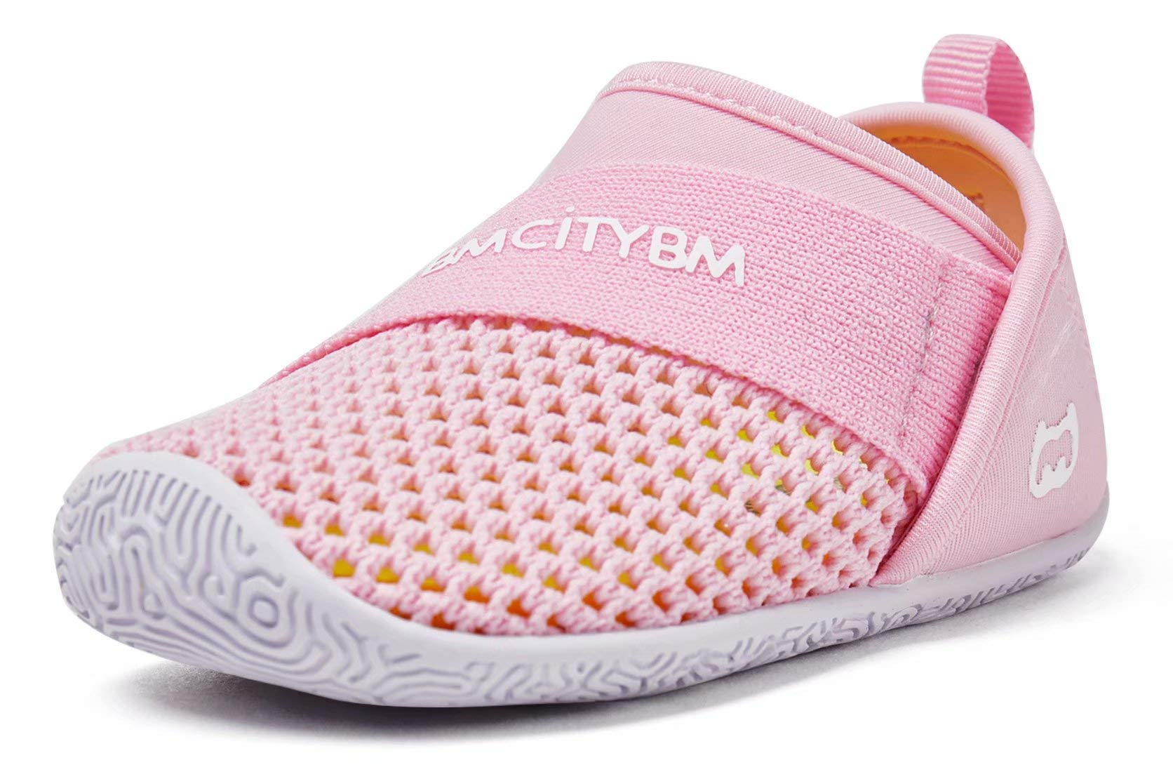 Baby Sneakers Girls Boys Mesh First Walkers Shoes 6 9 12 18 24 Months Pink Size 12-18 Months Infant by BMCiTYBM