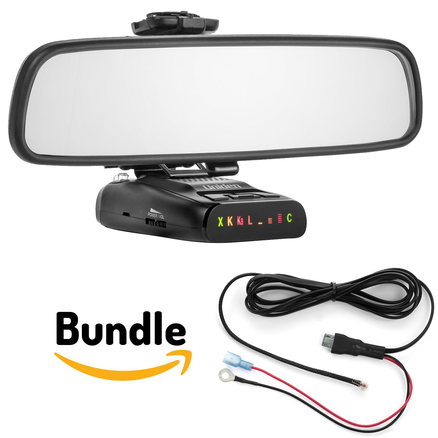 Radar Mount Mirror Mount Bracket + Direct Wire Power Cord for Uniden (3001209)