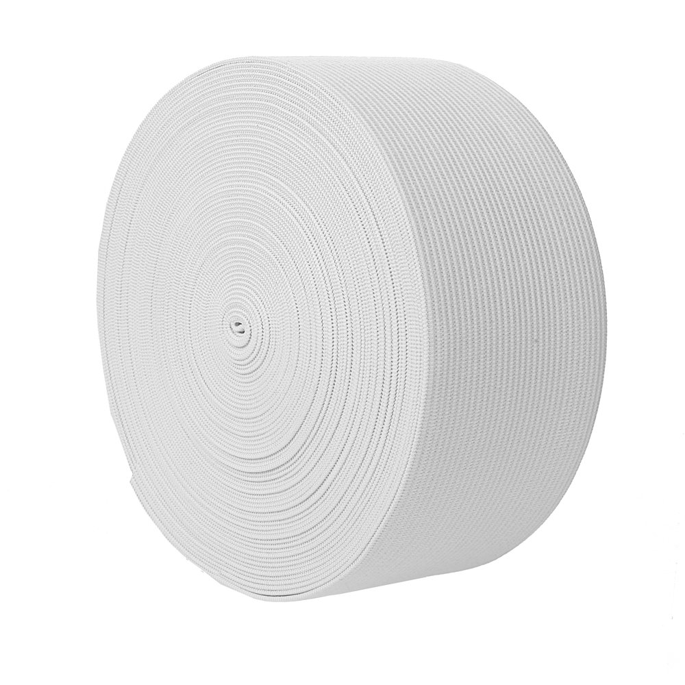 NW Elastic Bands Spool Sewing Band Flat Elastic Cord White, 3//4 Inch