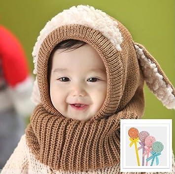 f185990f35a3d Smile march (スマイルマーチ) ベビー キッズ 帽子 かわいい 耳付 選べる カラー 秋 冬