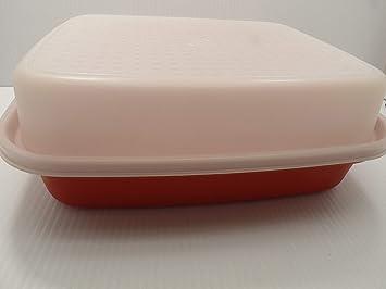 Tupperware Season Serve Marinator Orange