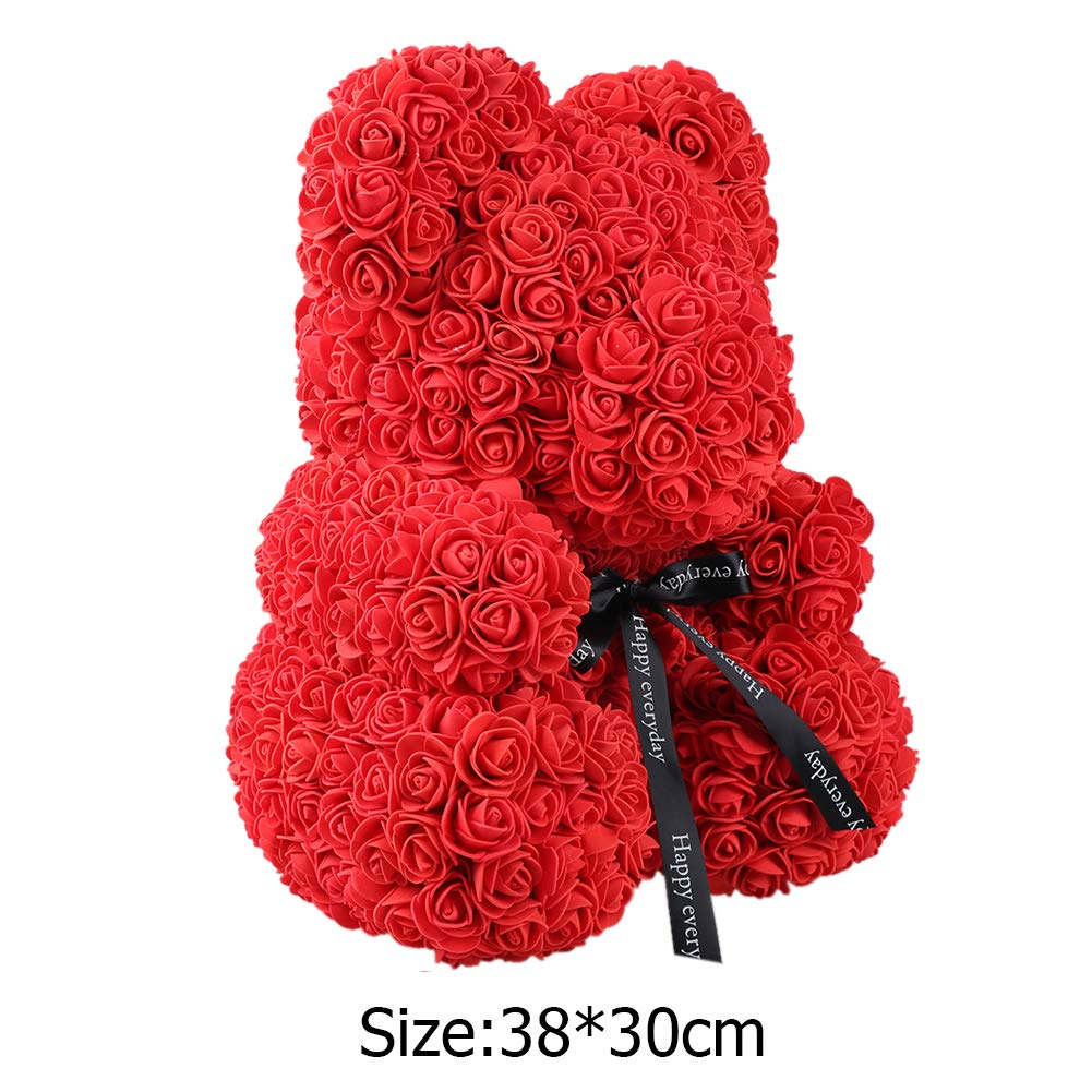 Festive & Party Supplies Artificial & Dried Flowers Rose Flower Doll Gift Flower Box Birthday Wedding Decoration Party Doll Toy Anniversary Valentine Gift For Girl Friend Clients First