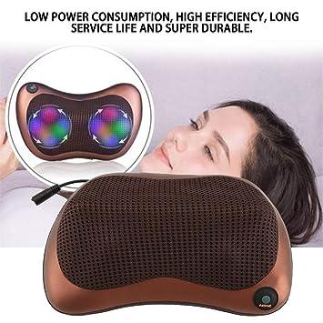 Multi-función Cuello Cintura Espalda Cuerpo Masajeador de Doble uso Car Home Massage Cojín Cojín Eléctrico Infrarrojo Calefacción Masajeador