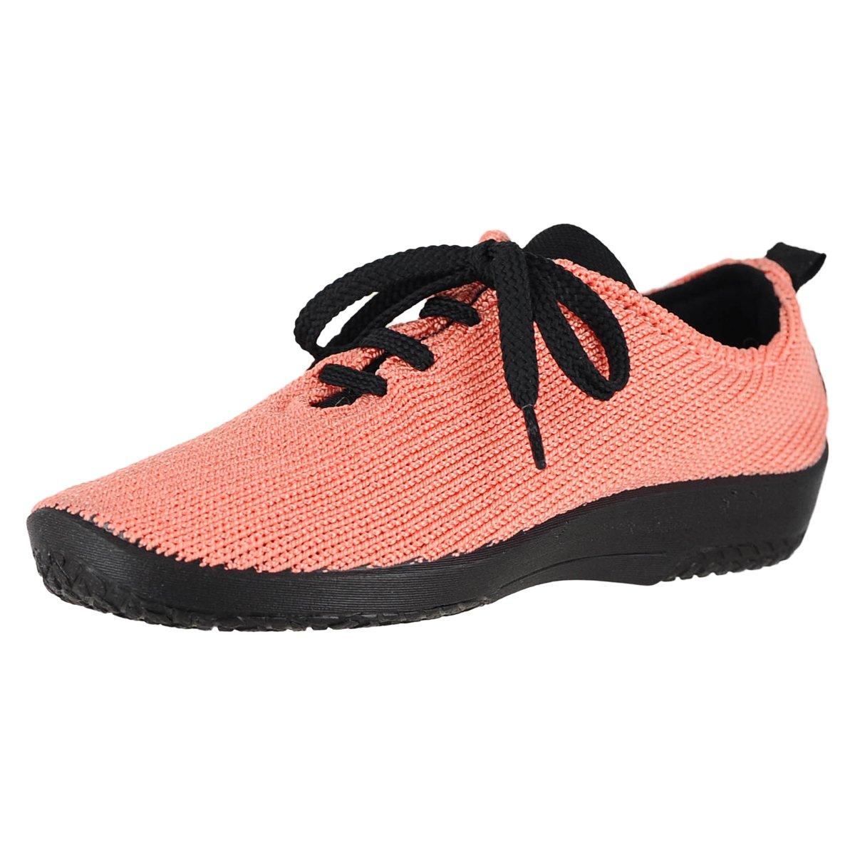 Arcopedico Womens LS Tie Knit Salmon Oxford - 39