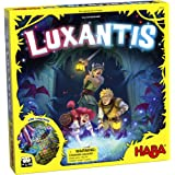 HABA Luxantis - A Suspenseful Cooperative Memory Matching Game with Unpredictable LED Game Board for 2-4 Players Ages 6+