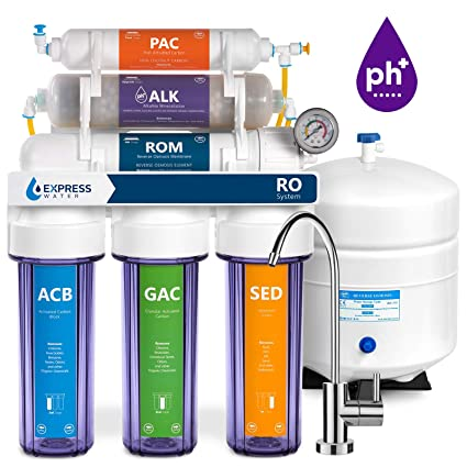 Express Water Alkaline Reverse Osmosis Filtration System - 10 Stage on