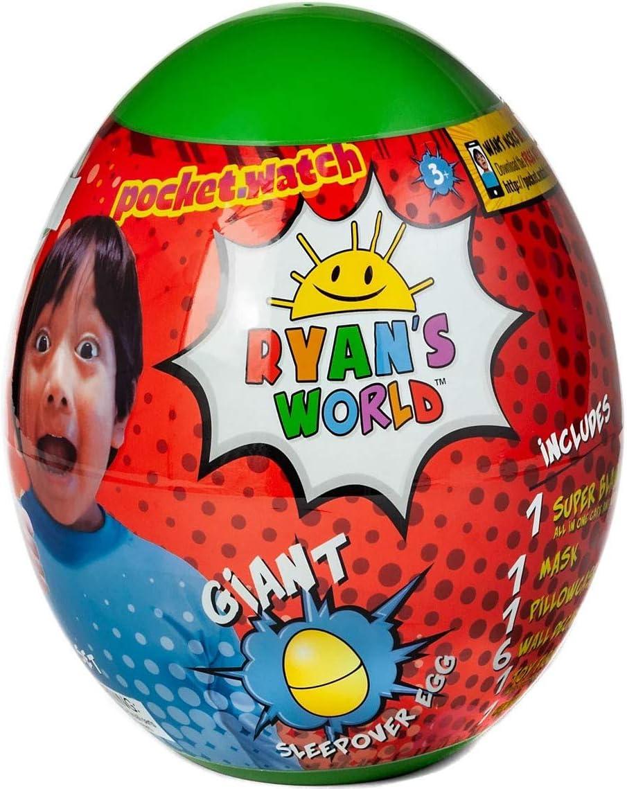 Ryans World Green Egg Twin Surprise Egg Pack Blanket Set