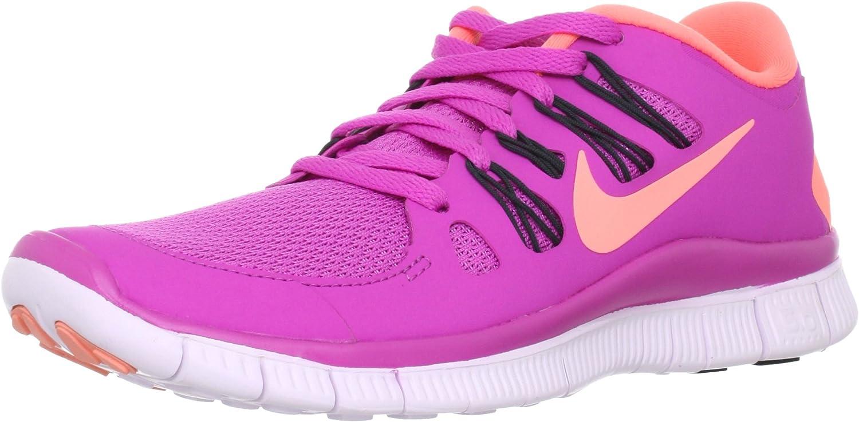 Nike Womens Free Run 5.0 Running Shoe Club Pink Anthracite Light Violet Atomic Pink