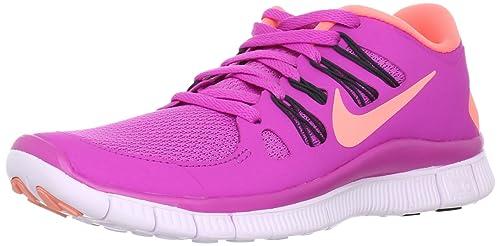 reputable site 4d108 7b4eb Nike Womens Free 5.0 Running Shoes 580591-660 Sz 5.5 Club pink
