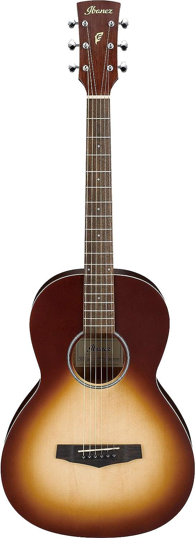 Ibanez PN19-ONB Guitarra Acústica, Explosión de Poro Abierto Natural Browned