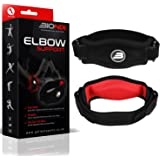 Bionix 1 Pack Tennis Elbow Support Brace with Compression Pad - Pain Relief and Support for Golfer's and Tennis Elbow, Epicondylitis, Tendonitis. Excellent Fit and Weather Resistance