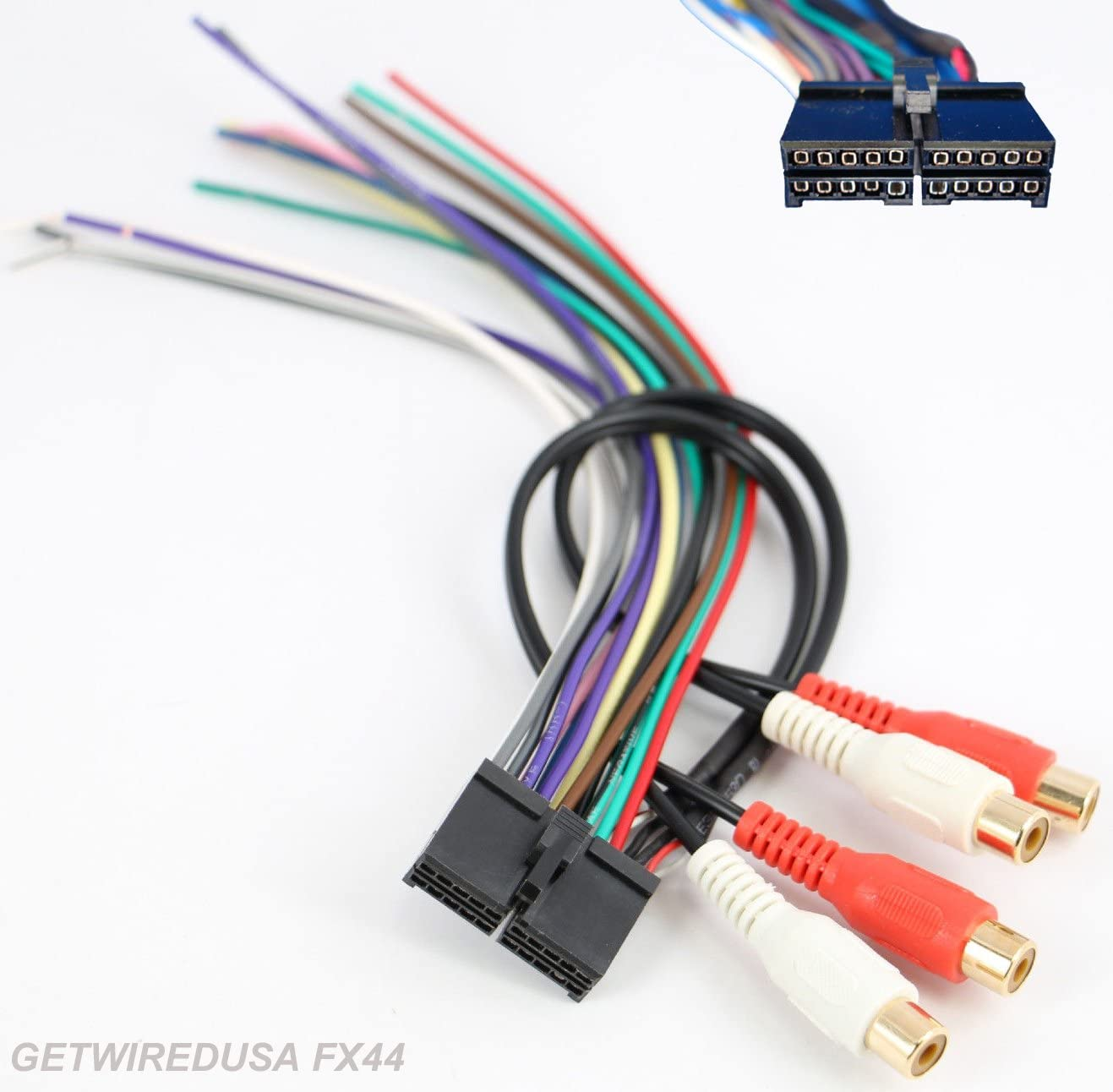 amazon.com: dual car audio radio power plug, stereo wire harness ...  amazon.com
