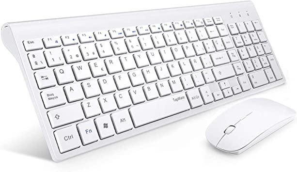 TopMate. Combinación de Teclado y Mouse inalámbricos Teclado Ultra ...
