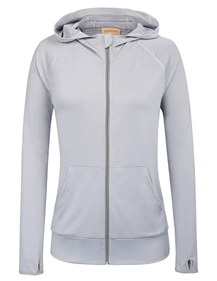 Amazon.com  Kate Kasin Women s Athletic Jackets Stretchy Performance  Full-Zip Workout Yoga Sports Coats (S 2fd40bfae