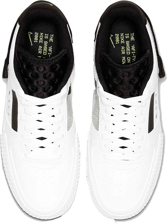 | Nike Men's Air Force 1 Type WhiteBlack AT7859