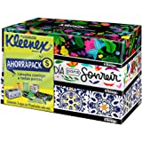 Kleenex Pañuelos Faciales Ahorrapack, Paquete con 3 cajas de 90 piezas c/u de doble hoja