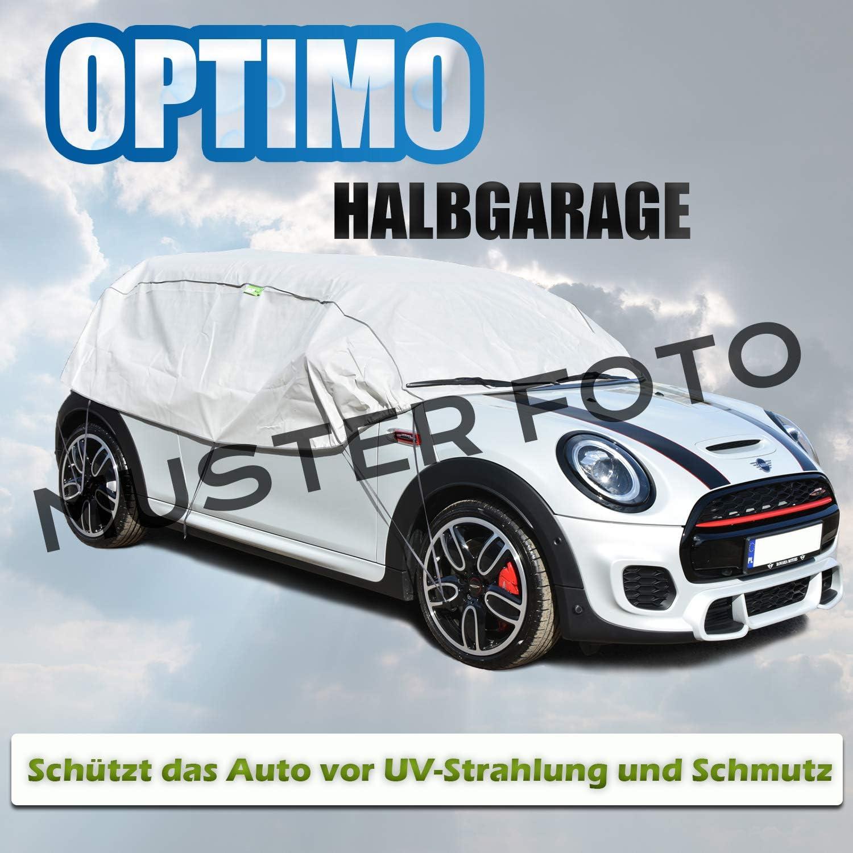 Halbgarage OPTIMO SUV f/ür das Auto KFZ UV Frostz Schutz geeignet f/ür VW Tiguan I 2007-2016 Abdeckung Abdeckplane
