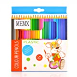 MEMX Colored Pencils Set, Presharpened - Colored Pencils for Adults and for Kids - Color Pencils For Artists With Cardboard C