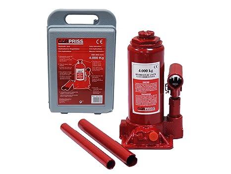 Carpriss 70677810 Gato Hidraulico Botella 4 T Tuv/Gs C/Maletin