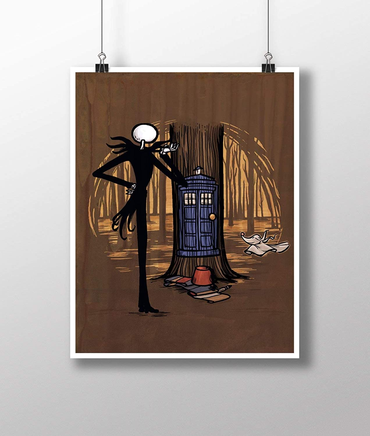 Amazon Com Doctor Who Tardis And Nightmare Before Christmas Jack