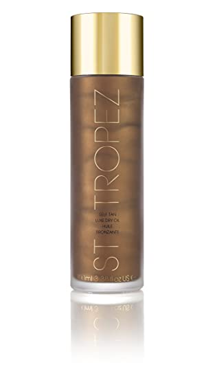 St. Tropez Self Tan Luxe Dry Oil Autobronceador - 100 ml: Amazon.es: Belleza