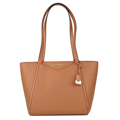 7357fd3c339fe MICHAEL by Michael Kors Whitney Small Acorn Leather Tote Acorn one size