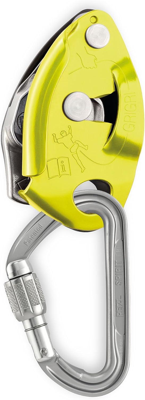 Petzl Grigri 2 Belay Dispositivo Amarillo H-Frame mosquetón ...