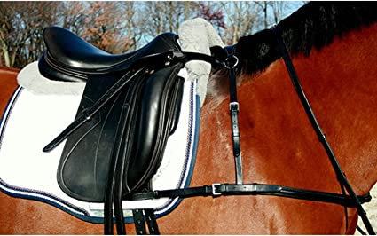 4 Point Breastplate Collar Dressage Cob Breastplates