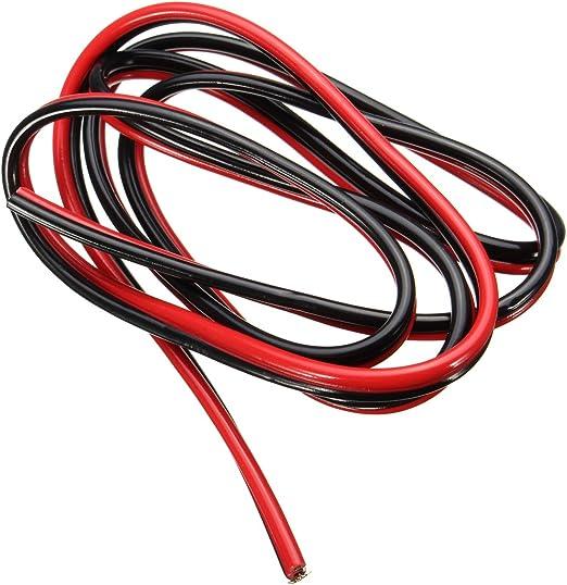 MYAMIA Cable De Soldadura Especial De Cama Caliente 3Pcs 1M Rojo Y ...