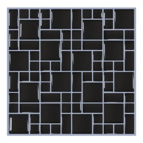 Amazon Com Smarsticker Wall Tile Stickers Peel And Stick Self