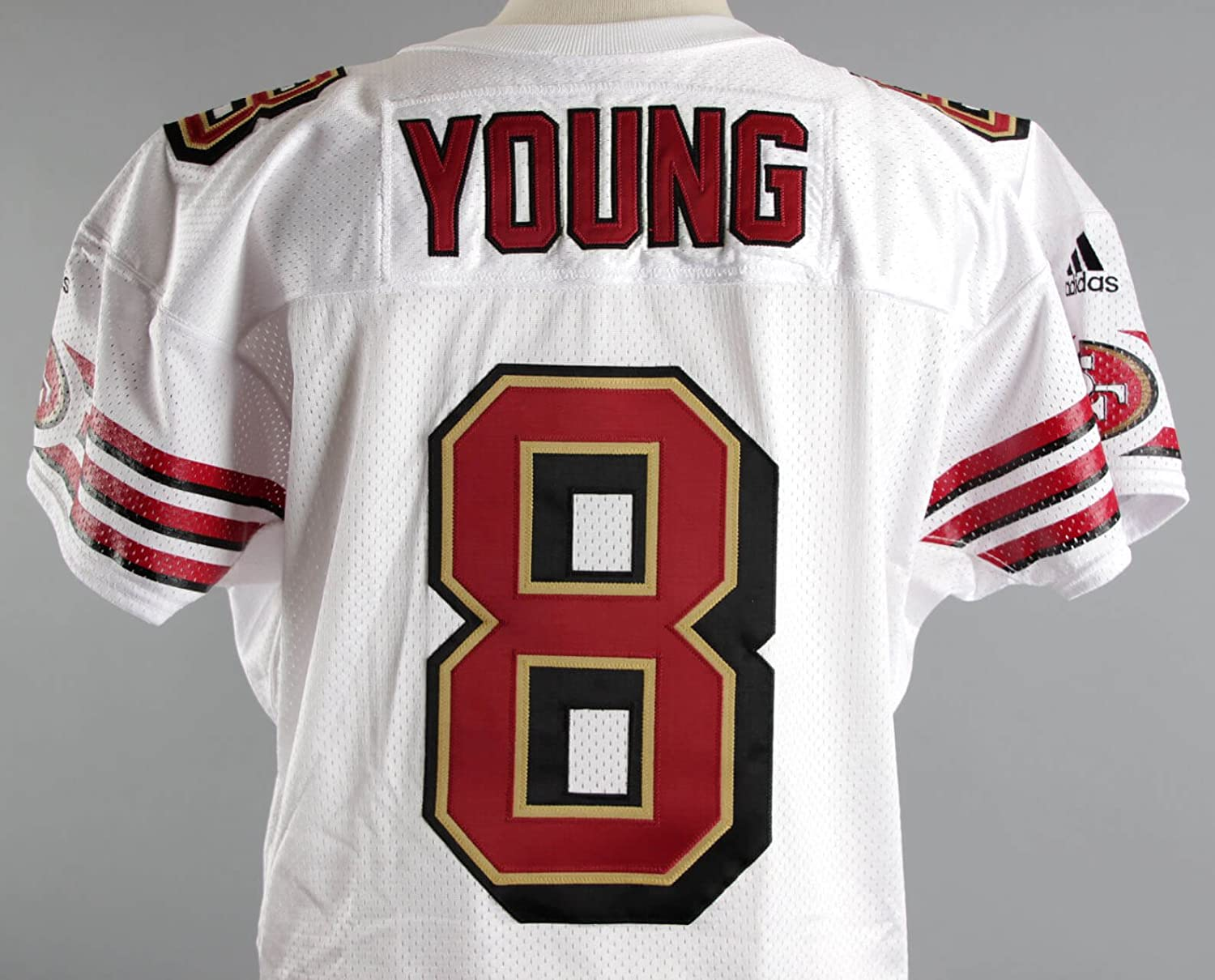 2000 Steve Young Game Issued Jersey SF 49ers COA at Amazon's