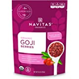 Navitas Organics Goji Berries, 16 oz. Bag, 15 Servings — Organic, Non-GMO, Sun-Dried, Sulfite-Free